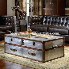 leather trunk coffee table leather trunk coffee table antique trunk aluminum trunk box leather trunk coffee