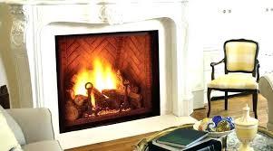 gas fireplace glass doors clean gas fireplace glass er er best way