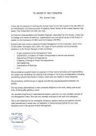 Reference Letter Of Mr Frank Baltrusch Resident Engineer