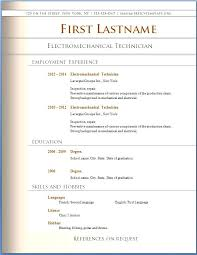 Great Resume Templates Best It Resume Template Template Best Resume