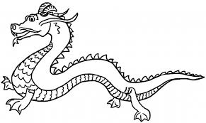 Small Picture Coloring Pages Dragons Chinese Coloring Pages Chinese Dragon