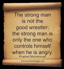Strong Man Quotes Magnificent Powerful Man Quotes Super The Strong Man Is Not The Good Wrestler