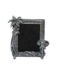 photo frame with elephant face and coconut tree in metal by handicrafts paradise ping for photo frames in india 11017748