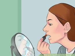 image led do your makeup if you wear gles step 1