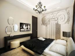 gorgeous design vintage style bedroom come with wrought iron bed frames and borders and white fl pattern bedding sheets and white grey colors pillows