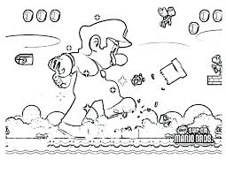Coloring Pages Super Mario Coloring Brothers Pages Characters Free