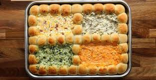 4 Cheesy Gameday Dips   Appetizers, Twisted recipes, Yummy ...
