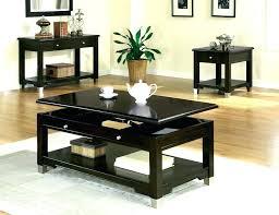 round espresso coffee table round espresso coffee table espresso finish coffee table set genoa round coffee