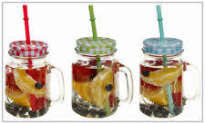 Decorating Jelly Jars Decorated Mason Drinking Jars Glasses eBay 75