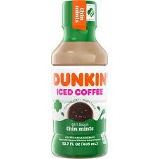 Dunkin' donuts mocha iced coffee bottle, 13.7 fl oz. Hdhwcas13bv6m
