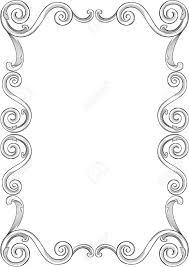frame. Engraving Pattern Of Nice Frame Stock Vector - 11998256
