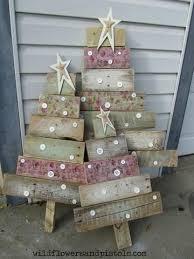 Frame With Christmas Tree Balls And Fir Branches On Wooden Table Wooden Branch Christmas Tree