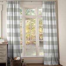 curtains grey vertical striped curtains pink and gray nursery childrens curtain panels light stars black
