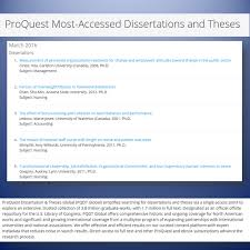 trial access to proquest dissertations and theses global  image gallery