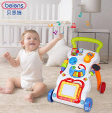 beiens brand toys learning walker for kids 9 month up light magnetic drawing board toy phone mirror educational toy baby walker thanksgiving gift