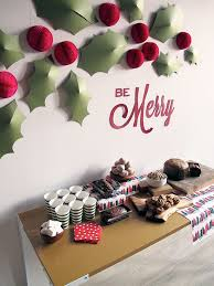 christmas office decoration ideas. Wall Decorating Ideas For Christmas Delectable Decor Fe Decorations Office Decoration
