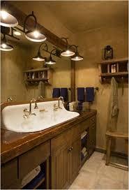rustic bathroom lighting. Decorate Your Bathroom With Rustic Vanity Lights: Tile Flooring Design Cool White Lighting O