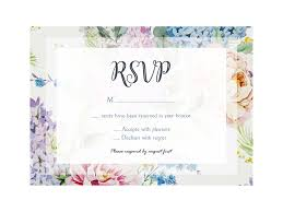 Free Floral Wedding Invitation Set Template Psd