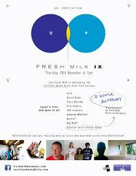 FRESH MILK IX – Thursday November 29th at 7:00 pm – fresh milk barbados