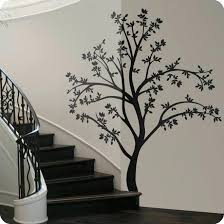 tree silhouette wall art large tree wall decal tree silhouette wall decal lot 26 studio koala tree silhouette wall art  on koala baby silhouette tree wall art kit with tree silhouette wall art vinyl wall decal sticker large spooky tree