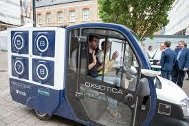 Design My Van Online Uks First Self Driving Grocery Delivery Van Hits The