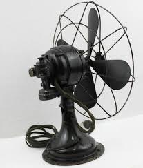 antique 1930s westinghouse 10 oscillating desk fan table fan vintage fan