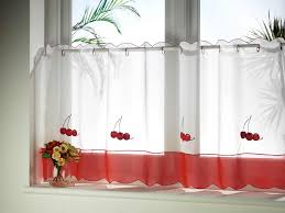 Red And White Kitchens Red And White Kitchen Curtains Kitchen Ideas