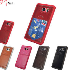 For Samsung Galaxy Note 5 Case Luxury Cover,High Quality PU Leather Back Phone Cases With Card Holder Note5 Cover ᐊFor