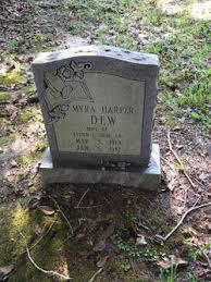 Myra Harper Dew (1913-1987) - Find A Grave Memorial