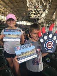 "Hillary Rice on Twitter: ""#EverybodyIn first Cubs game! @Cubs visiting from  KY! #GoCubsGo… """