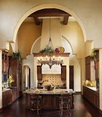 tuscan pendant lighting and center island with adorable chandelier design