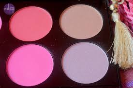makeup revolution all about pink blush palette last two columns