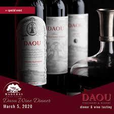 Daou Wine Dinner - Maderas Golf Club