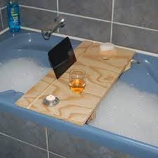 this diy bath caddy is just what you need to take time out and relax in
