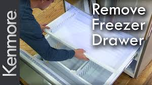 how to remove freezer drawer kenmore grab n go refrigerator
