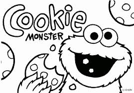 Cookie Monster Coloring Page Best Of Cookie Coloring Pages Elegant