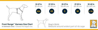 Ruffwear Harness Size Chart Amazon Com Ruffwear Front Range All Day Adventure