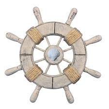 ship wheel wall decor handcrafted nautical decor rustic ship wheel wall reviews ship steering wheel wall