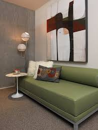 office sleeper sofa. Chic Sofa Sleepers In Home Office Modern With Next To Vintage Lamp Alongside Retro Daybed And Rattan Sleeper L