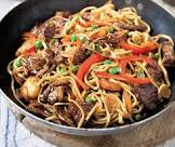 authentic chinese pork chow mein
