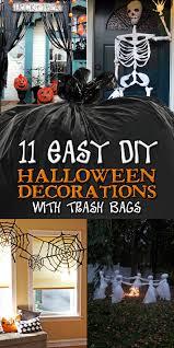 diy halloween decorations home. 11 Easy DIY Halloween Decorations With Trash Bags Diy Home L