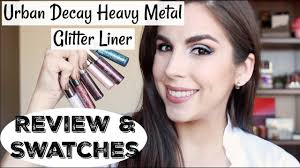 <b>Urban Decay Heavy Metal</b> Glitter Liner | Review & Swatches | Katie ...
