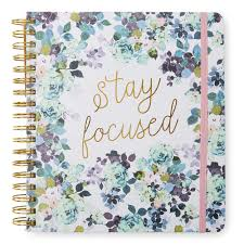 Tri Coastal Design Planner 2019 17 Month Agenda Stay Focused Products In 2019
