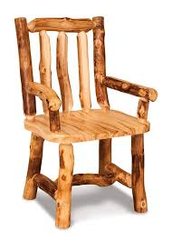 log rustic furniture amish. Amish Rustic Pine Log Chairs With Arms Furniture ,
