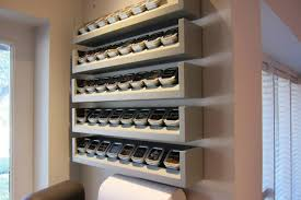 Image of: Spice Rack Wall