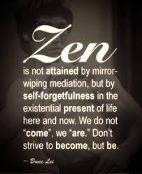 Meditation Quote Zen is not attained by mirrorwiping meditation b Picture quote 92
