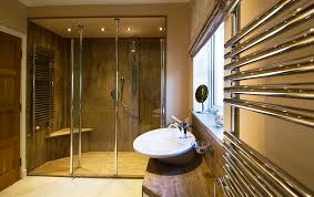high quality shower panels marble