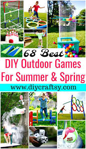homemade outdoor games for kids. DIY Outdoor Games For Summer \u0026 Spring - Game Ideas And Activities Homemade Kids