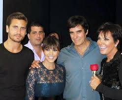disick kourtney kardashian kris jenner attend david  scott disick kourtney kardashian kris jenner attend david copperfield s show at mgm grand
