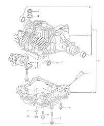 Husqvarna tuff torq k61 transaxle parts diagram for transaxle case assy